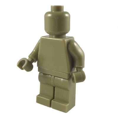 Minifig OLIVE GREEN - Minifigs