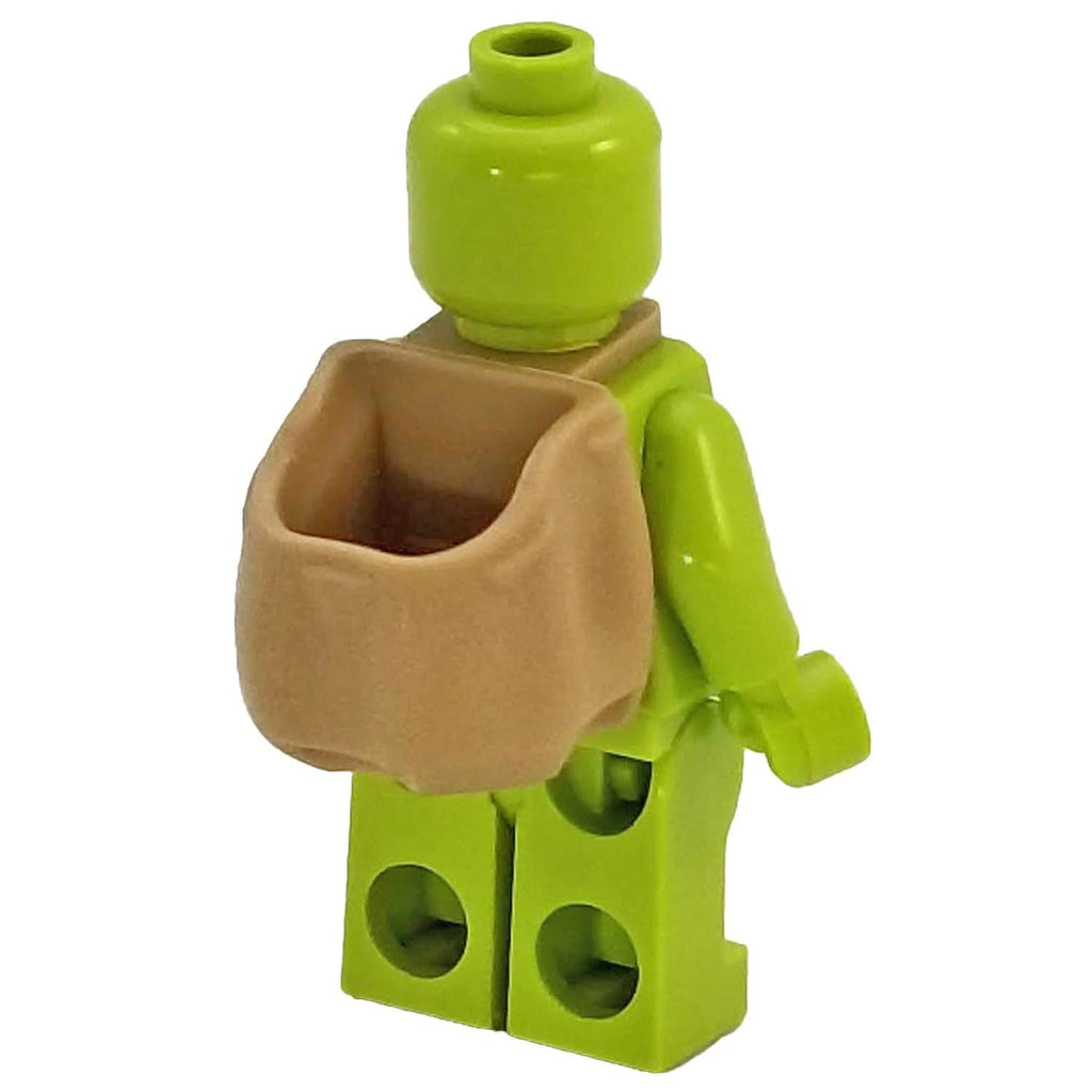 LEGO Brown Western Minifig Non-Opening Backpack  Minifigure Neck Accessory