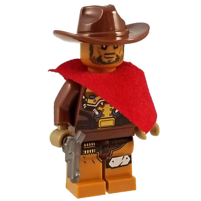 Minifig Overwatch Jesse McCree - Minifigs