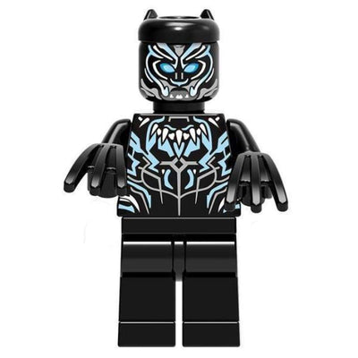 Minifig Panther Man - Minifigs