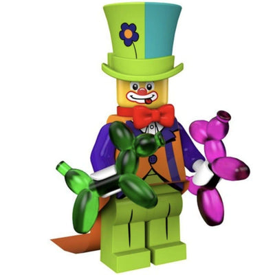 Minifig Party Clown - Minifigs