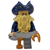Minifig Pirate Davy Jones - Minifigs