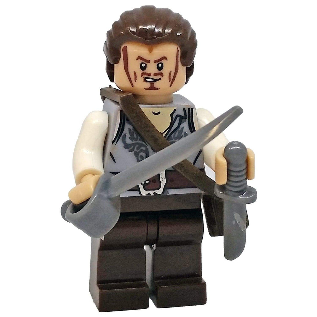 Minifig Pirate Will Turner - Minifigs