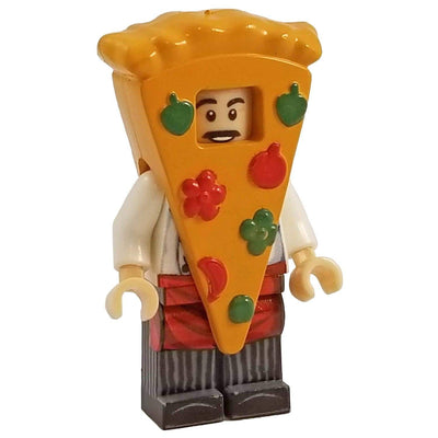 Minifig Pizza Suit Guy - Minifigs