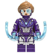 Minifig Purple Armor Pepper - Minifigs