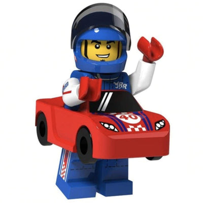 Minifig Race Car Guy - Minifigs