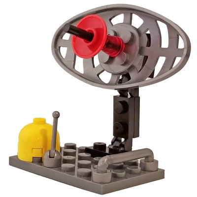 Minifig Radar Station Set - Dioramas