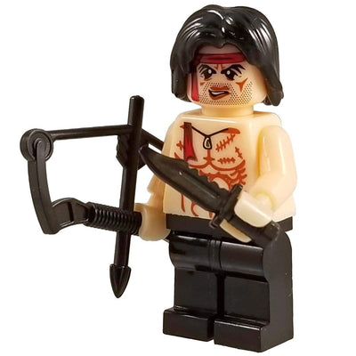 Minifig RAMBO-Brick Forces