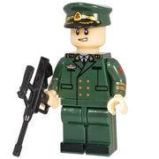 Minifig Red Army Officer Bolin - Minifigs