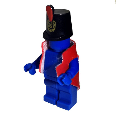 Minifig Regimental Coat Red - Clothing