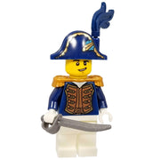 Minifig Revolutionary War American Officer - Minifigs