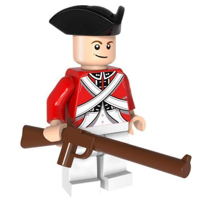 Minifig Revolutionary War British George - Minifigs