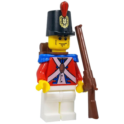 Minifig Revolutionary War British Infantry - Minifigs