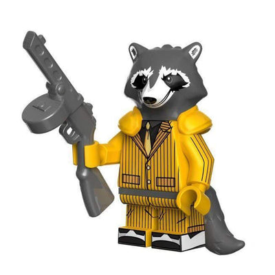 Minifig Rocket Raccoon Prison Clothes - Minifigs