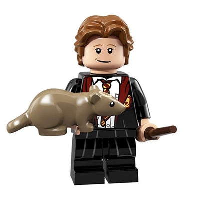 Minifig Ron with Scabbers - Minifigs