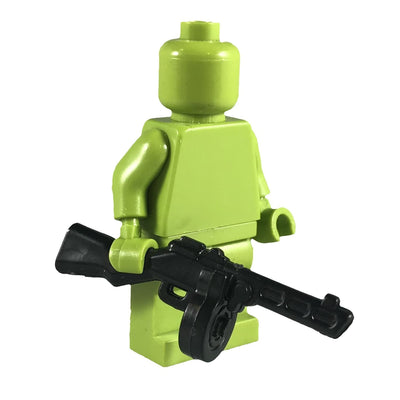 Minifig Russian PPSH - Machine Gun