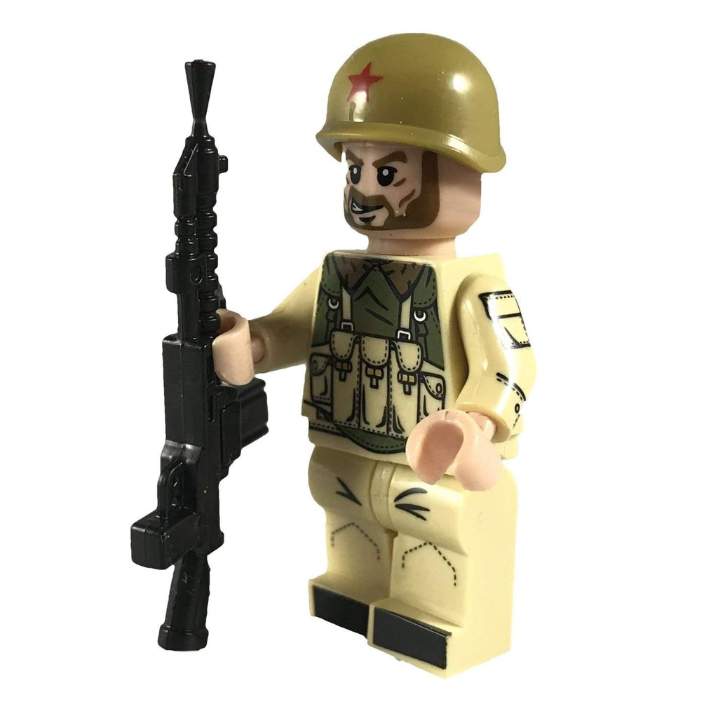 Minifig Russian Soldier Ivan - Minifigs