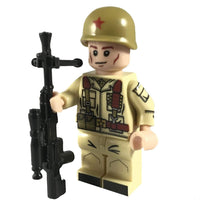 Minifig Russian Soldier Misha - Minifigs