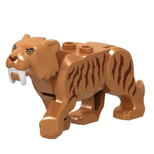 Minifig Saber-toothed Tiger - Animals