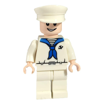 Minifig Sailor Dress Cap - Minifigs