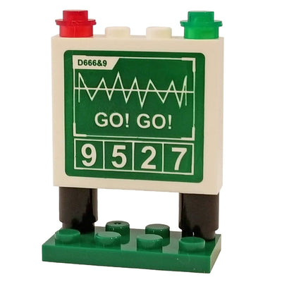 Minifig Score Board / Flight Deck Message Board - Accessories