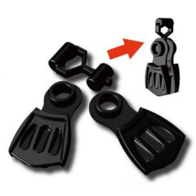 Minifig SCUBA Dive Fins - Accessories