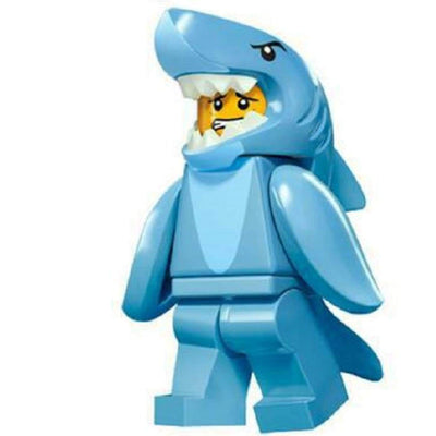 Minifig Shark Suit Guy - Minifigs
