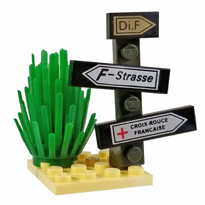 Minifig Signpost Set - Vegetation