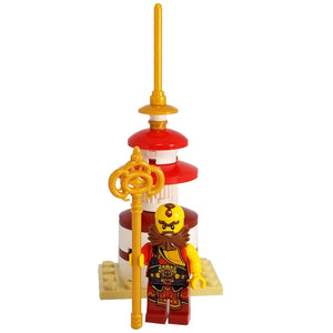 Minifig Small Diorama Set Dharma King - Sets