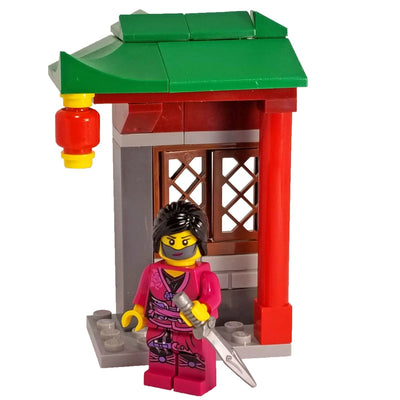 Minifig Small Diorama Set Lady Assassin - Sets