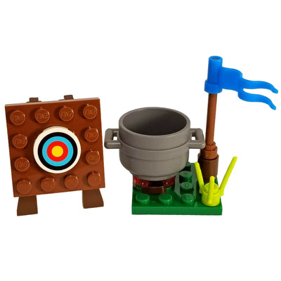 Minifig Small Diorama Set Mongolian Archer - Sets