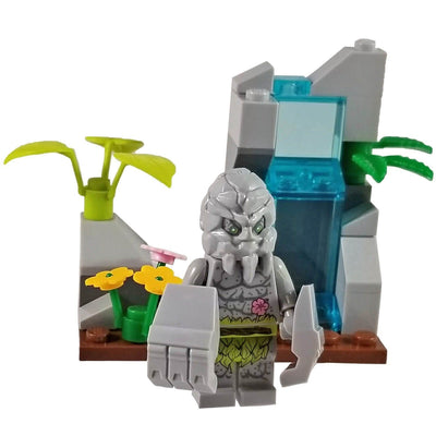 Minifig Small Diorama Set Stone Man - Sets