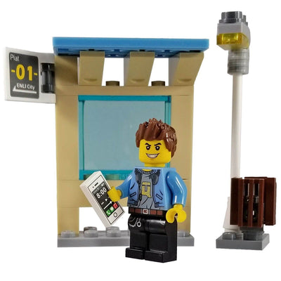 Minifig Small Diorama Set Street Boy - Sets