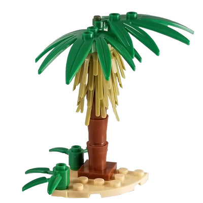 Minifig Small Palm Tree - Vegetation