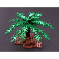 Minifig Small Tree Limbs or Leaves (1 Piece) - Vegetation