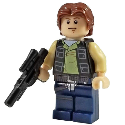 Minifig Smuggler in Vest - Minifigs