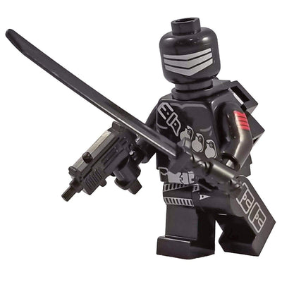 Minifig G.I. Joe Snake Eyes-Brick Forces