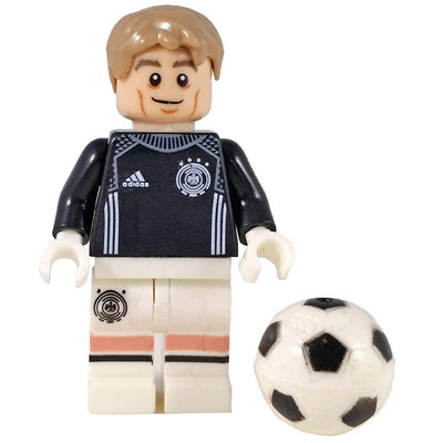 Minifig Soccer Player Goalie-Brick Forces