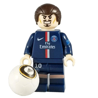 Minifig Soccer Player #10 Ibrahimovic-Brick Forces
