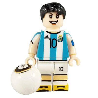 Minifig Soccer Player #10 Messi - Minifigs