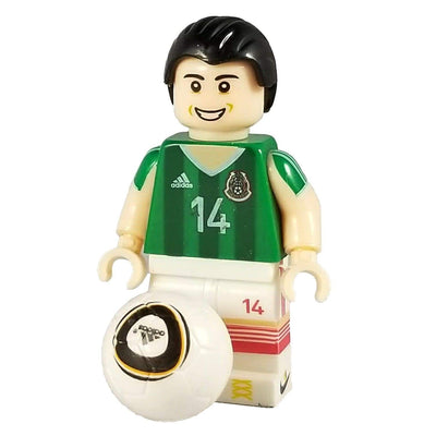 Minifig Soccer Player #14 Chicharito - Minifigs
