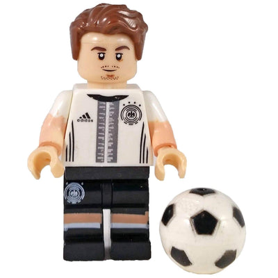 Minifig Soccer Player #19-Brick Forces