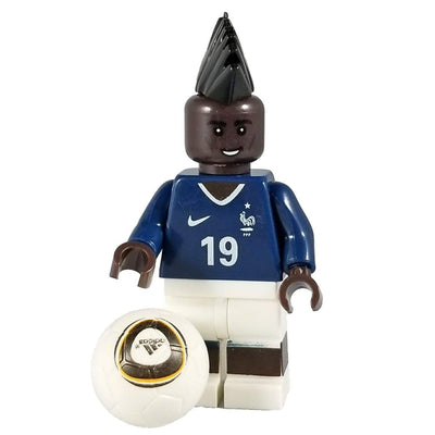Minifig Soccer Player #19 Pogba-Brick Forces