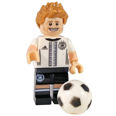Minifig Soccer Player #4-Brick Forces