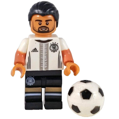 Minifig Soccer Player #6 Khedira - Minifigs