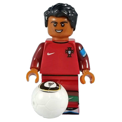 Minifig Soccer Player #7 Ronaldo-Brick Forces
