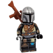 Minifig Space Bounty Hunter - Minifigs