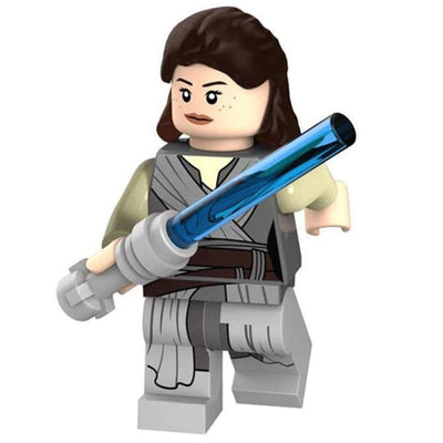 Minifig Space Knight in Training Rey - Minifigs