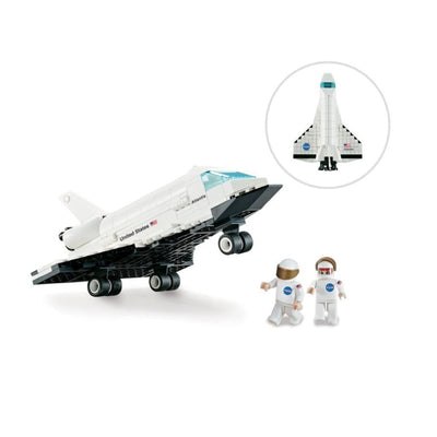 Minifig Space Nasa Orbiter Set (264 Pieces) - Airplanes