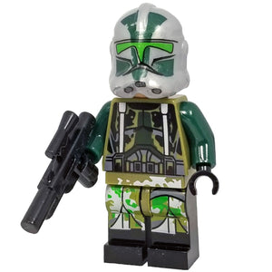 Minifig Space Trooper Gree - Minifigs